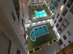 Appartement meublé avec piscine à 5min de la mer