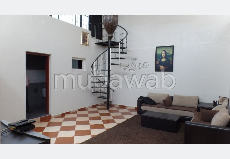Rent this apartment. Small area 107 m². Television.