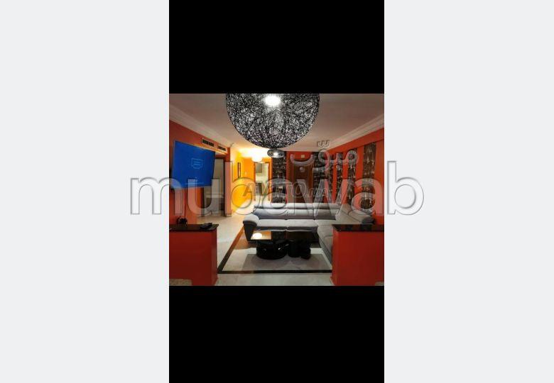 Appartement de vacances à louer à Fès. Surface totale 96 m². Bien meublé
