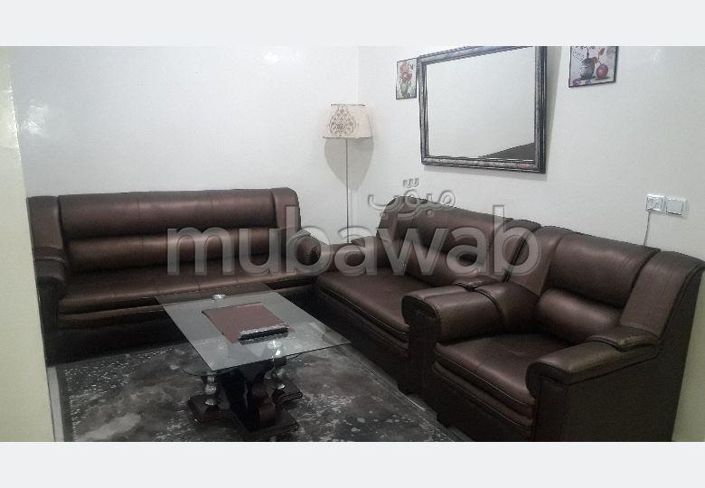Appartements à louer à Fès. Superficie 100.0 m². Meublé