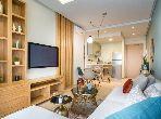 شقة رائعة للبيع بالدارالبيضاء. المساحة الكلية 1.0 م². مطبخ مجهز جيدا.