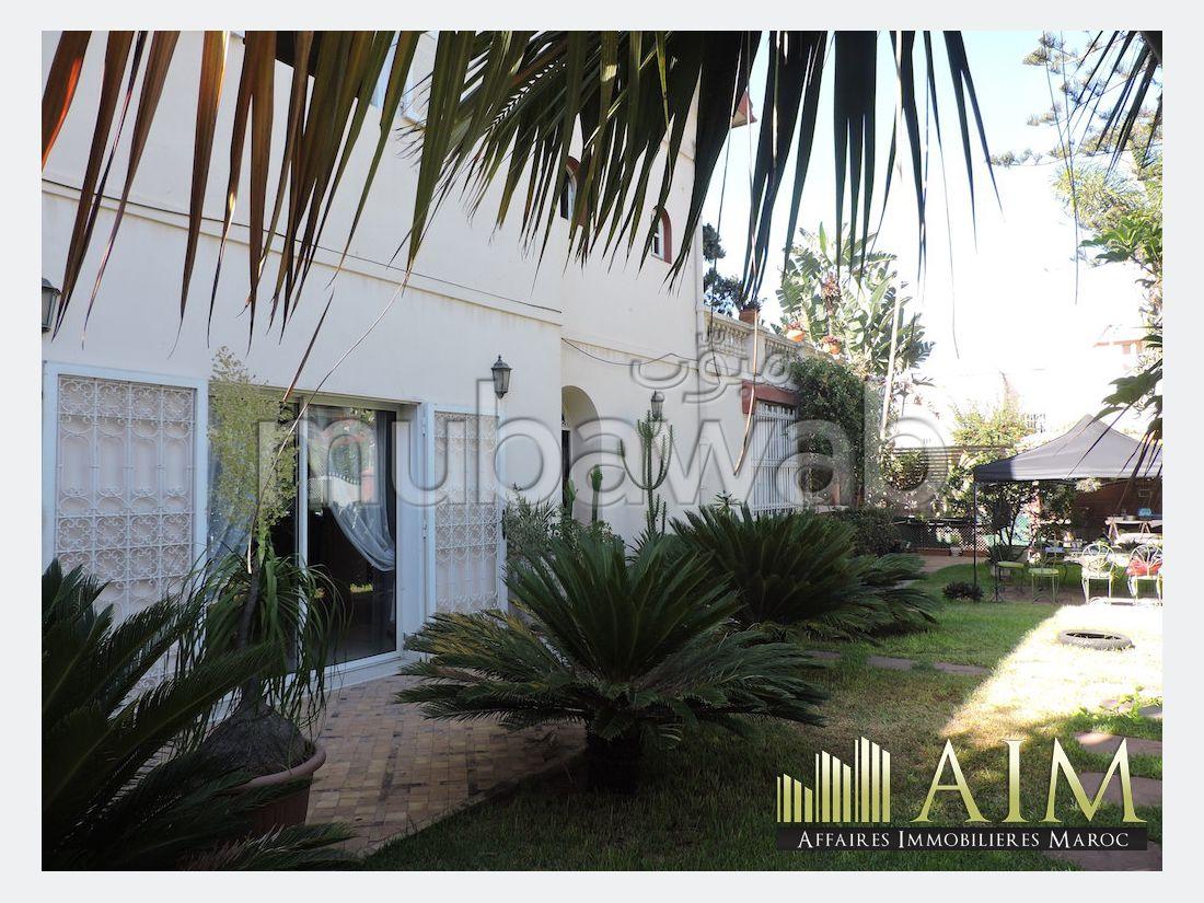 Av villa emplacement premium oasis casablanca