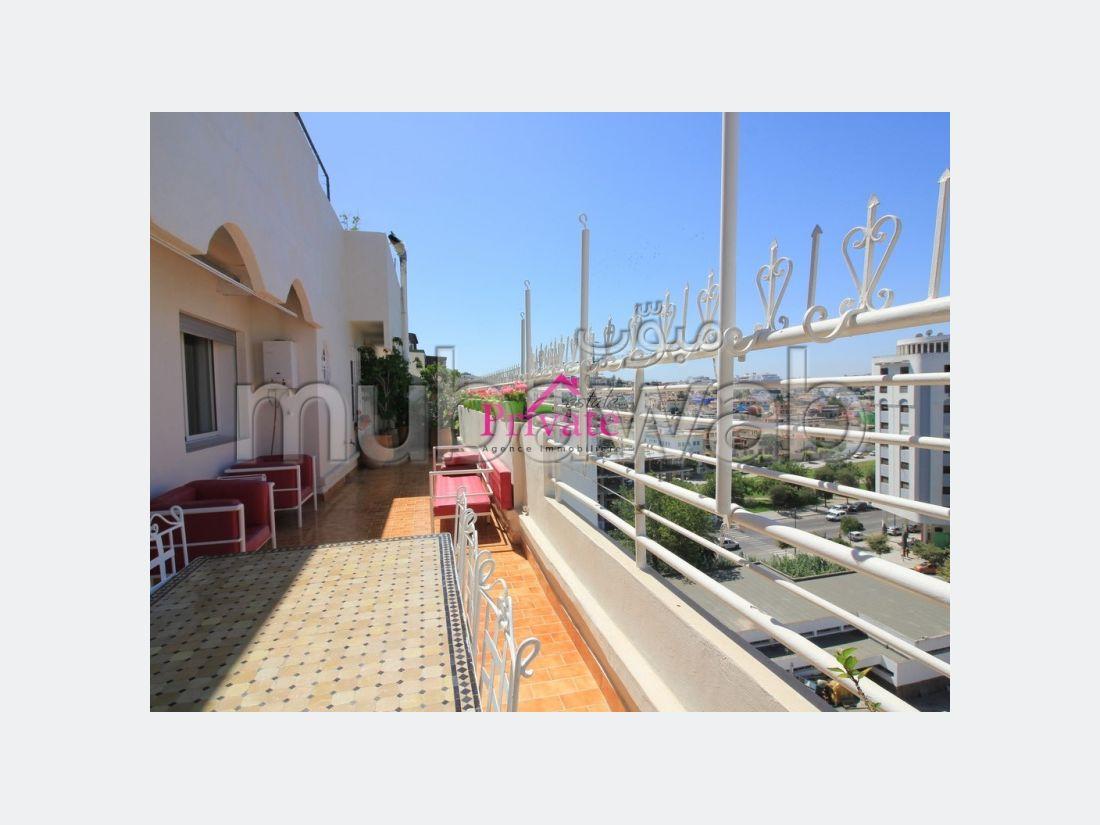 Vente Appartement 177 m² PLACE MOZART Tanger Ref: VA254