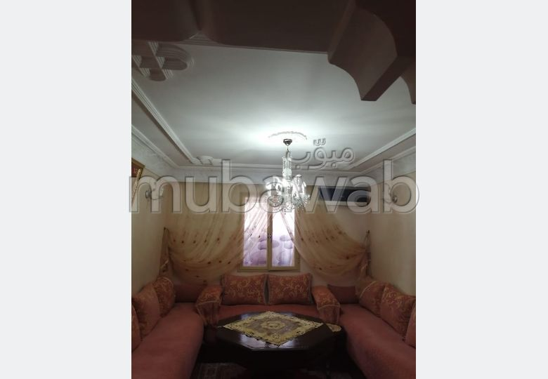 بيع شقة بسلا. المساحة 63.0 م². نظام تكييف الهواء.