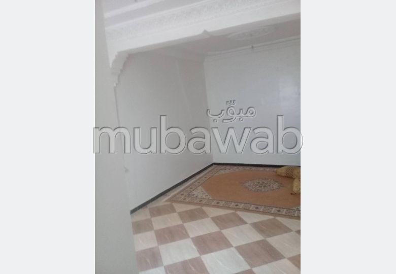 شقة للبيع بسلا. المساحة الكلية 56 م². إقامة مراقبة 24/24.