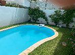 Jolie Villa meublée 3CH avec piscine à Dar Bouazza