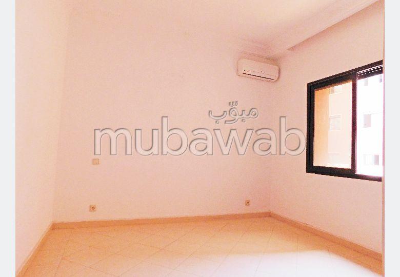 شقة رائعة للايجار بمراكش. 2 غرف ممتازة. نظام تكييف الهواء.