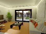 Appartement de 94m² avec 55m² de Jardin en vente, Saphir bleu