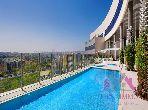 شقة جميلة للكراء بحـي الشاطئ. 1 غرفة جيدة. مكيف للهواء وحوض للسباحة.