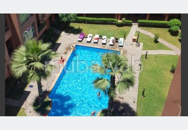 Find an apartment for rent in Majorelle. 1 Room. Fully furnished.
