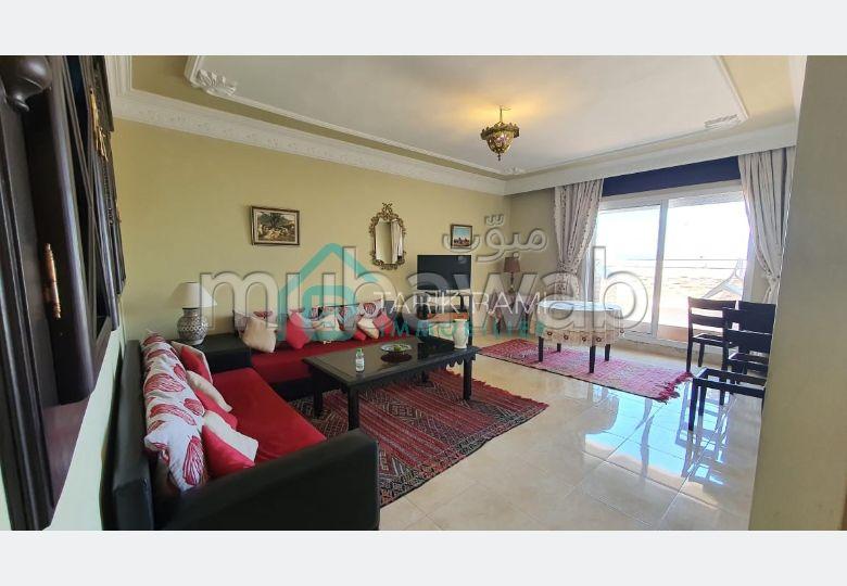 Joli appartement meublé avec terrasse à louer