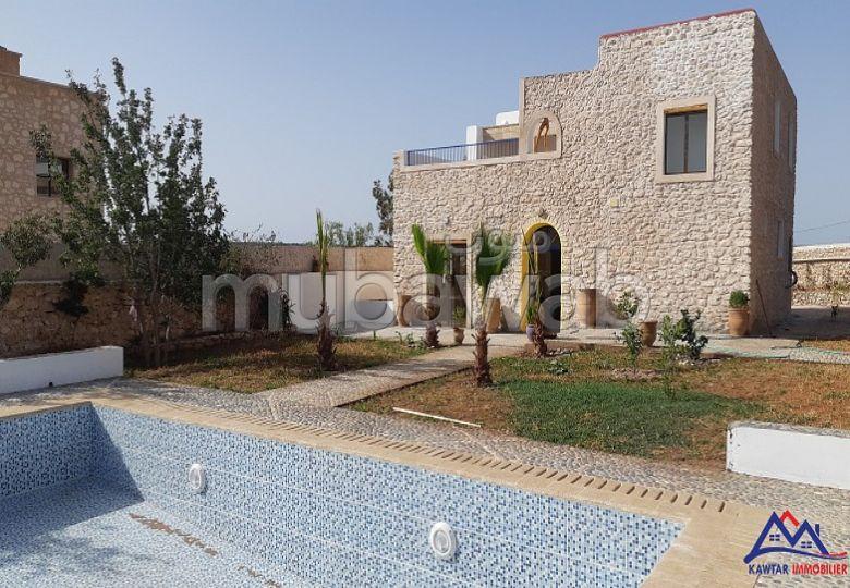 Villa en pierre à louer sur la route de Safi