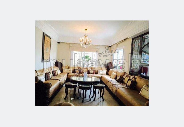 شقة جميلة للكراء بمراكش. 2 قطع مريحة. مفروشة