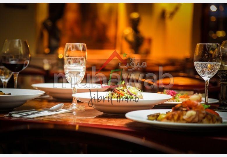 Restaurant en plein centre ville d'Agadir
