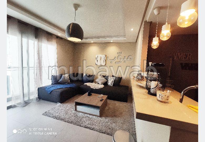 Superbe appartement à louer à Maârif Extension. . Meublé
