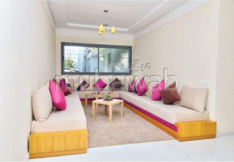 بيع شقة بالدارالبيضاء. المساحة الكلية 71 م². حديقة.