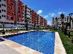 شقة للبيع ببوسكورة. المساحة 64.0 م². موقف السيارات وشرفة.
