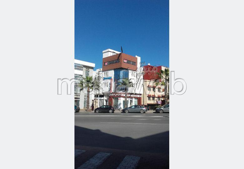 Location de bureaux à Rabat. Surface totale 60.0 m²