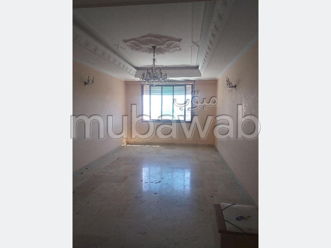 Appartement vide pour location