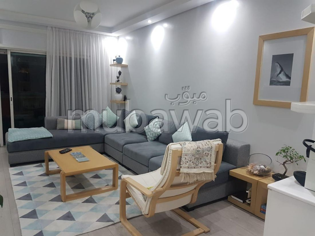 Great apartment for rent in Agdal. 1 room. Parking spaces and terrace.