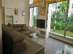 APT loft meublé avec jardin privatif sur leH Agdal