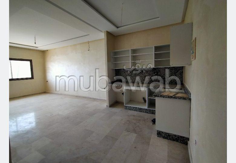 Vente d'un bel appartement à Tanger City Center. 1 Pièce. Ascenseur et stationnement