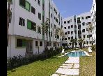 بيع شقة ببوسكورة. المساحة 56.0 م². حديقة ومصعد.