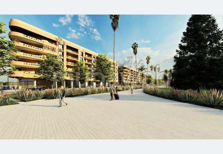 شقة للشراء بمراكش. المساحة الكلية 121.0 م². مع مصعد ومنطقة خضراء.