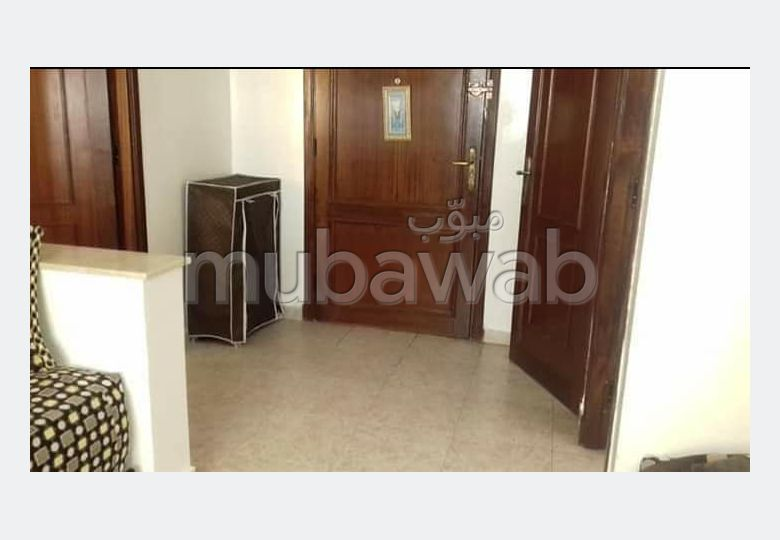 Apartments for rent. 1 lovely room. Traditional living room and satellite dish system.