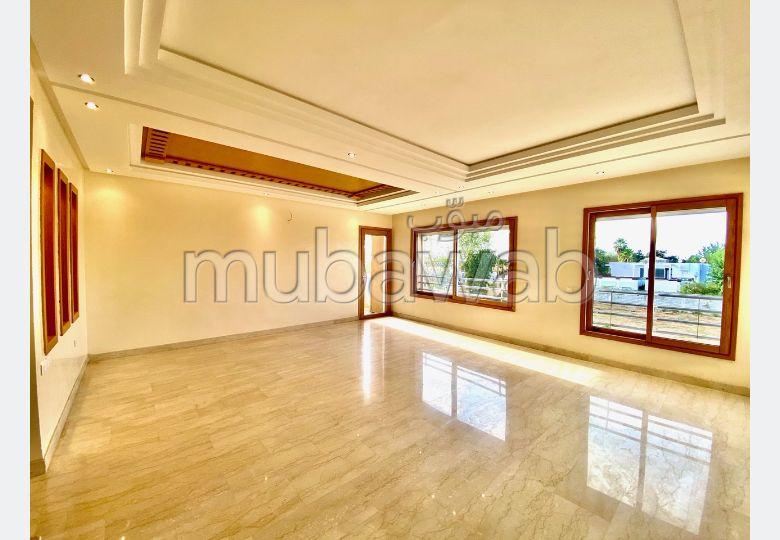 Location appartement neuf à Rabat