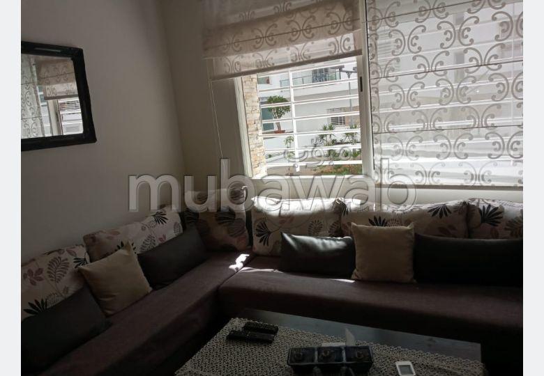 شقة جميلة للبيع بالرباط. 3 قطع رائعة. المرآب والشرفة.