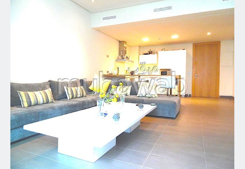 Av bel appartement acces direct plage casablanca