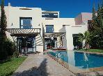 Golf Al Maaden magnifique villa vue golf et Atlas