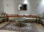 A louer à Tanger villa meublée avec jardin