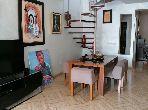 شقة جميلة للبيع ب بوركون الغربي. 3 غرف رائعة. شرفة جميلة وحديقة.