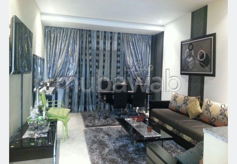Bel appartement en location à Nouaceur. Surface totale 65.0 m². Meublé.