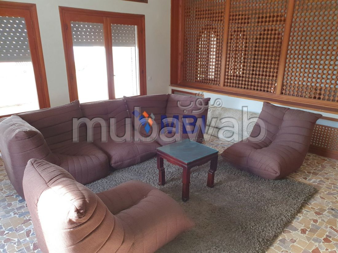 Fabulous villa for rent in Malabata. 5 Room. Furnished.
