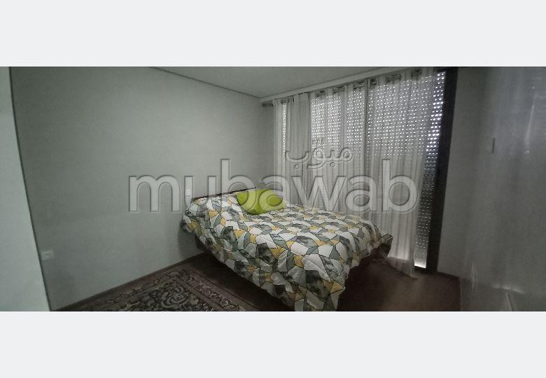 Appartement à louer à Agadir. 3 chambres agréables. Bien meublé