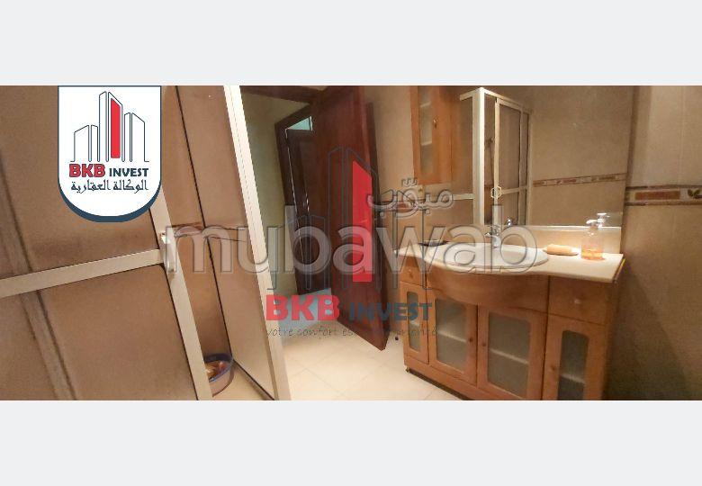 Appartement meuble de 107m²