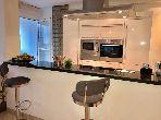 Appartement à louer à Racine. Surface de 125.0 m². Meublé