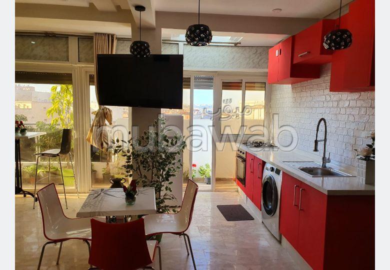 Très jolie Appartement bien meublé à BD ZRAKTOUNI