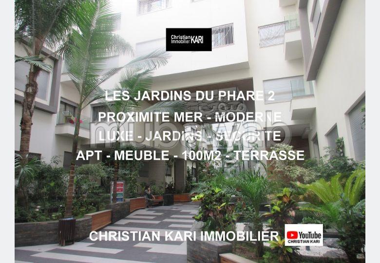 Les Jardins du Phare Apt Meublé 100m2 Terrasse