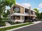Villa en plein finition à Bouskoura Green Town
