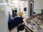 شقة للكراء بطنجة. المساحة 90.0 م². مسبح  وخدمة الكونسياج.
