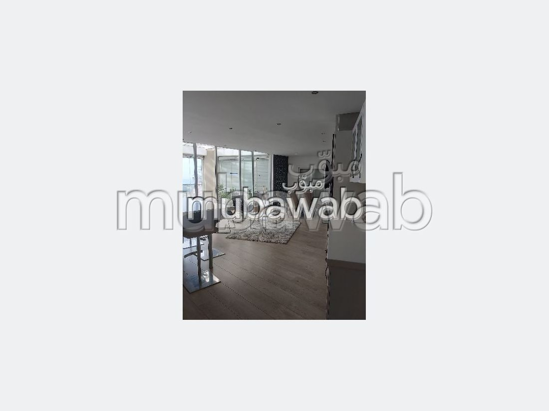 Dar Bouazza location duplex 250 m 2 meublé premium vue mer