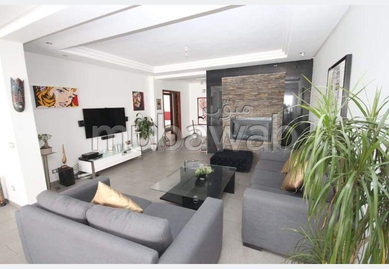 شقة جميلة للكراء بالدارالبيضاء. المساحة الكلية 171.0 م².