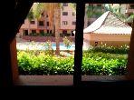 Appartement vue piscine
