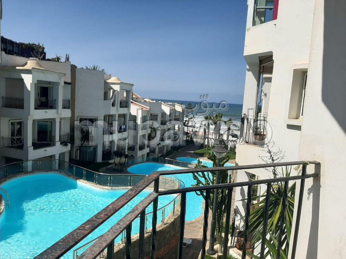 Bel appartement plein soleil face mer