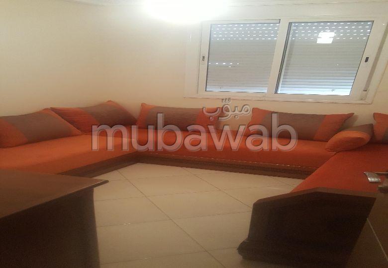 Louez cet appartement à Agadir. Surface totale 60.0 m². Meublé