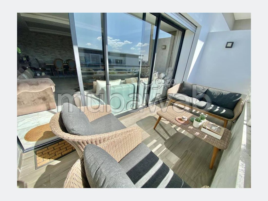 Appartement à vendre avec terrasse à DAR BOUAZZA